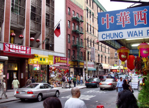 """OLYMPUS DIGITAL CAMERA""""Chinatown-manhattan-2004"""" by Derek Jensen (Tysto) - Own work. Licensed under Public Domain via Commons."""