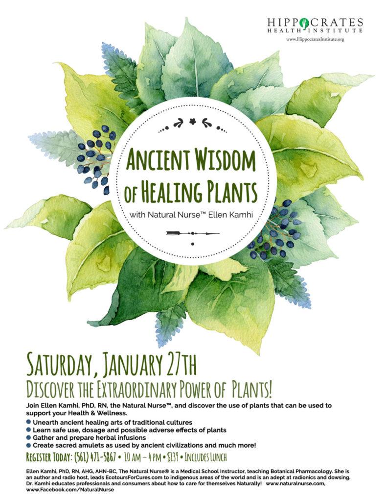 ancient wisdom healing plants 2018
