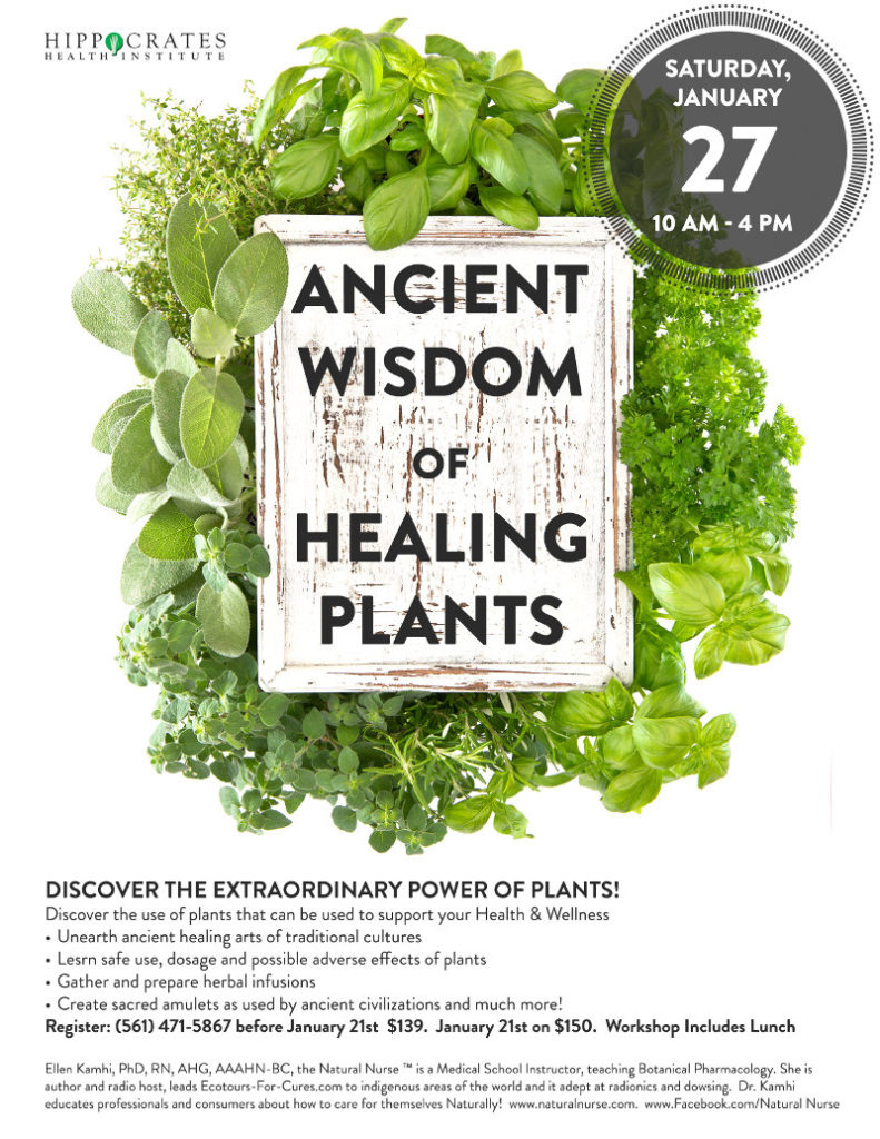 ancient wisdom of healing plants 2018