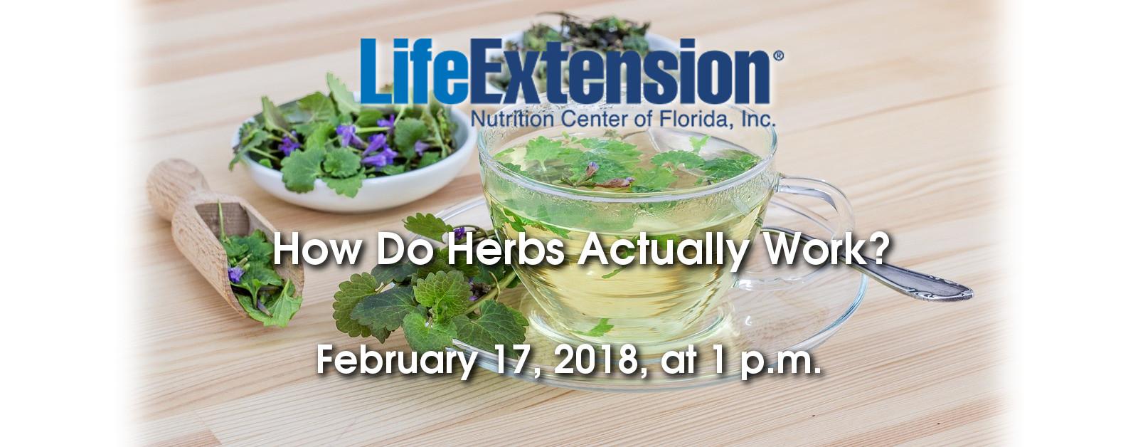 how do herbs work